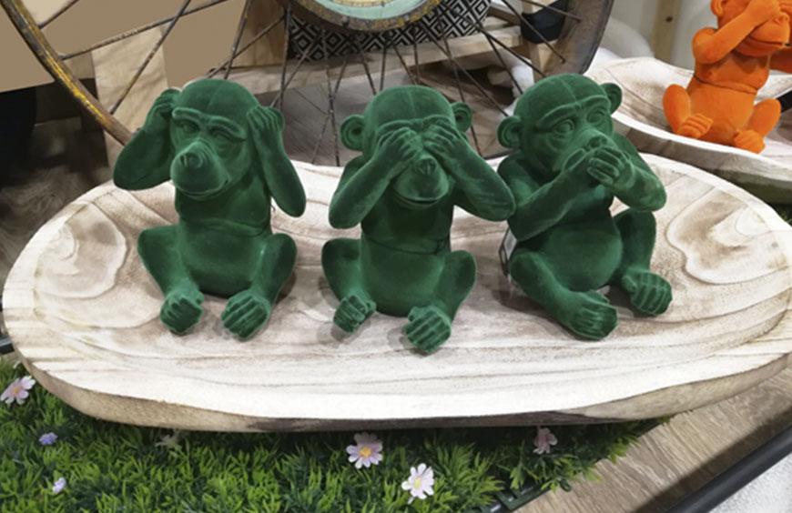 Set Scimmiette nuovi colori