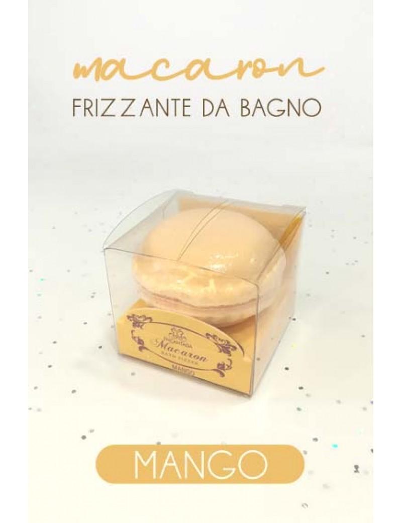 macaron frizzante da bagno - mango