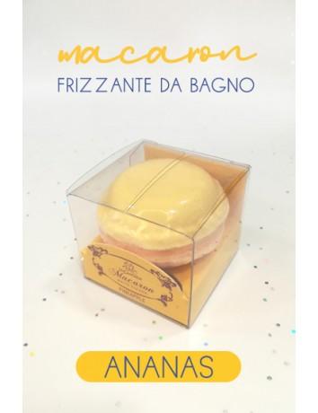 macaron frizzante da bagno - ananas