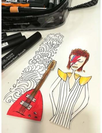 """Ritratto David Bowie """"Stai in campana"""""""
