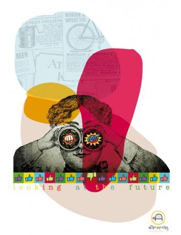 """Poster """"Uno sguardo al futuro"""" - Graphic Design by Ro.Vadalà"""