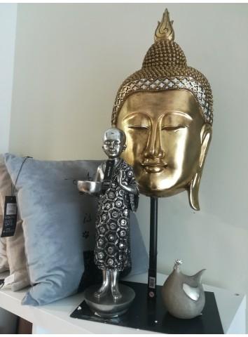 Testa di Buddha oro