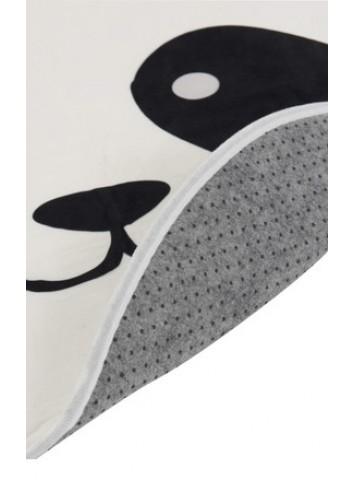 Tappeto Panda bianco/nero - J-Line
