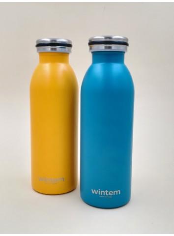 Bottiglia termica Wintem - colore blu