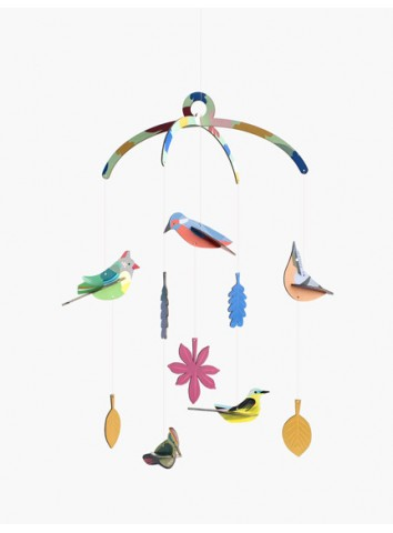 3D Uccellini da giardino studio Roof