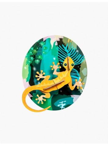 3D Jungle Gecko Studio Roof
